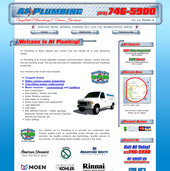 Web Design for A1 Plumbing