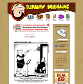 Web Design for Funday Morning
